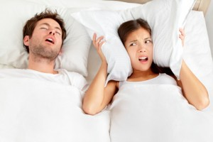 Loud, frequent snoring can be a sign of sleep apnea.